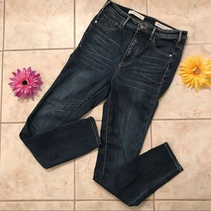 Pilcro Superscript High Waisted Ankle Jeans